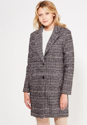 Пальто Tom Tailor Denim. Цвет: черно-белый