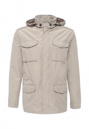 Куртка Grishko. Цвет: бежевый