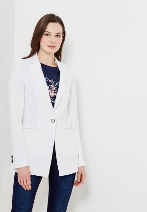 Пиджак Zarina. Цвет: белый