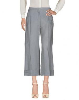 Повседневные брюки SIYU. Цвет: грифельно-синий