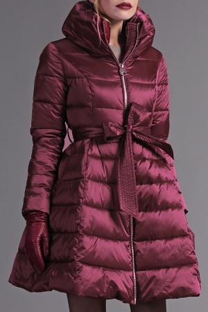 Пальто Naumi. Цвет: малиновый