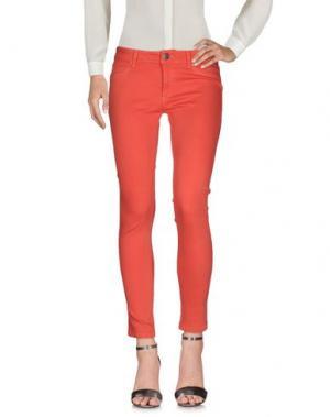 Повседневные брюки DL1961. Цвет: оранжевый