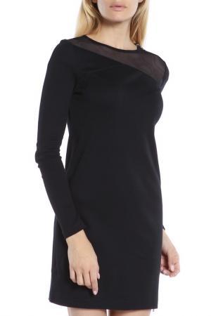 Деловое платье с длинным рукавом Diesel. Цвет: 900 black