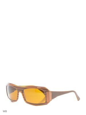 Солнцезащитные очки LOOK 2001 C400. Цвет: коричневый