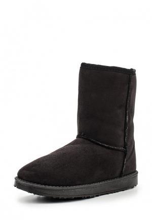Полусапоги WS Shoes. Цвет: черный