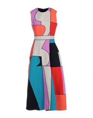 Платье длиной 3/4 ROKSANDA. Цвет: красный