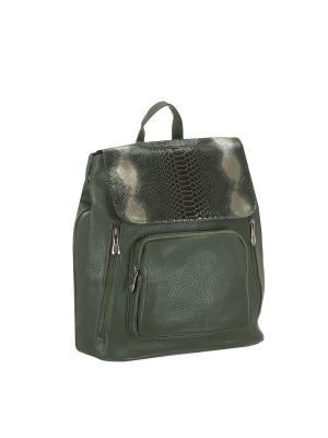 Рюкзак 5700 искусственная кожа Sofiya. Цвет: зеленый