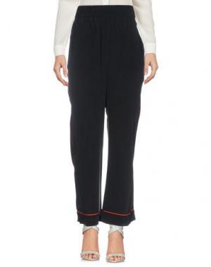 Повседневные брюки GANNI. Цвет: черный