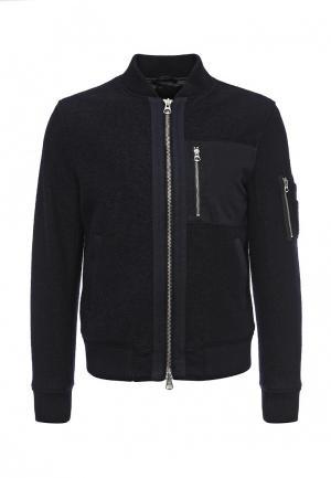 Куртка утепленная Gant Rugger. Цвет: синий