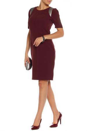 Платье BGN. Цвет: fig