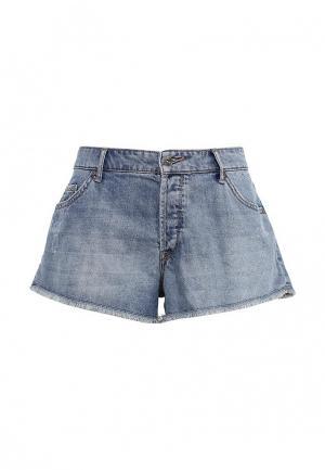Шорты джинсовые Roxy. Цвет: голубой
