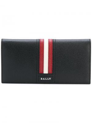 Континентальный кошелек Trigo Bally. Цвет: чёрный