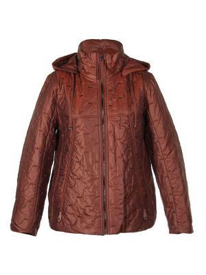 Куртка City Classic. Цвет: терракотовый