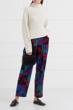 Брюки с принтом (1985 год) Christian Dior Vintage. Цвет: multicolor