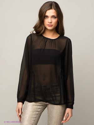 Блузка Blend. Цвет: черный