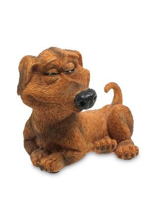 Фигурка Собака Такса The Comical World of Stratford. Цвет: коричневый