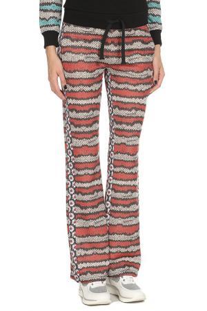 Расклешённые брюки с карманами Just Cavalli. Цвет: 245, черный, красный