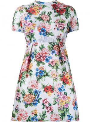 Платье Tinker с цветочным узором Emilia Wickstead. Цвет: многоцветный
