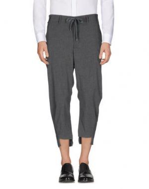 Повседневные брюки IMB I'M BRIAN. Цвет: серый