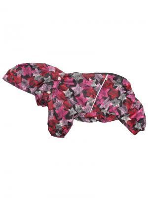 Дождевик для собак LION.. Цвет: розовый