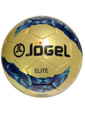 Мяч футбольный JS-800 Elite №5 Jogel. Цвет: золотистый