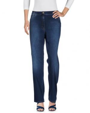 Джинсовые брюки BRAX. Цвет: синий