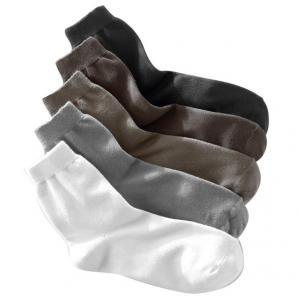 5 пар носков R essentiel. Цвет: каштан + черный  + хаки + серый + белый,черный