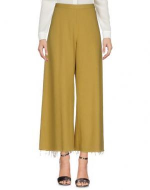 Повседневные брюки SIMON MILLER. Цвет: охра