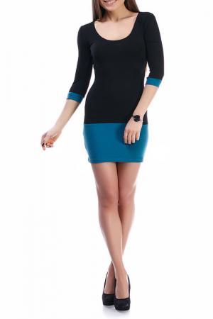 Платье Majaly. Цвет: голубой