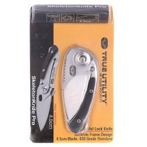 Нож  Skeletonknife Pro Tu74 Grey True Utility. Цвет: серый