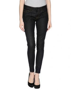 Джинсовые брюки AND. Цвет: черный