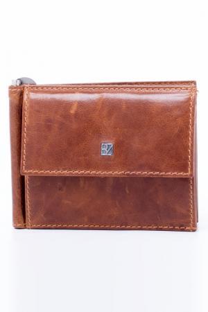Зажим для денег Bodenschatz. Цвет: коричневый