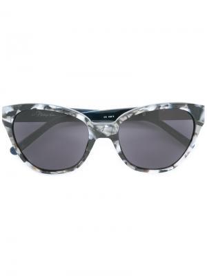 Солнцезащитные очки  x Linda Farrow 152 C5 3.1 Phillip Lim. Цвет: чёрный