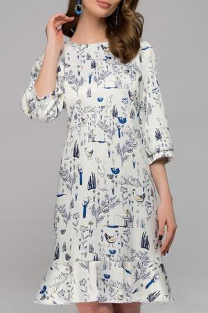 Платье 1001dress. Цвет: белый