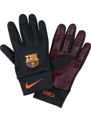 Перчатки FCB NK STADIUM GLOVE Nike. Цвет: черный, бордовый