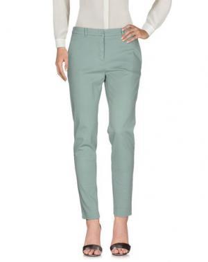 Повседневные брюки MASON'S. Цвет: светло-зеленый