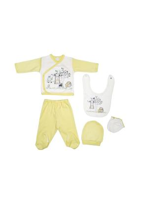 Комплект Bebitof Baby. Цвет: желтый