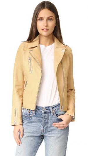 Байкерская куртка Reed Doma. Цвет: терра
