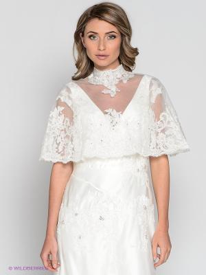 Свадебное болеро X'Zotic. Цвет: белый