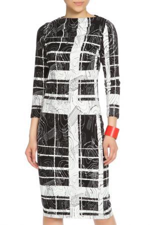 Платье Escada. Цвет: черно-белый