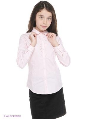 Блузка Vitacci. Цвет: бледно-розовый