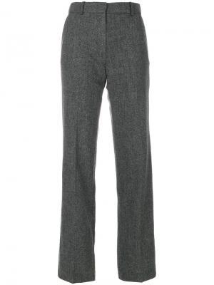 Строгие твидовые брюки Vanessa Bruno. Цвет: серый