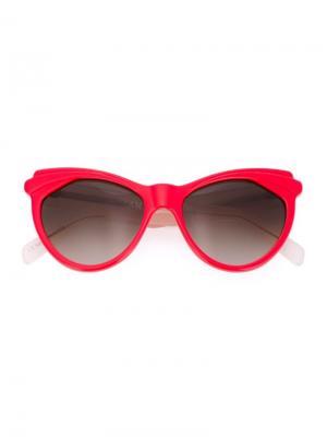 Солнцезащитные очки Erzulie Zanzan. Цвет: розовый и фиолетовый
