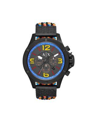 Часы Armani Exchange. Цвет: желтый, черный, синий, серый, красный