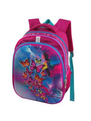 Ранец ученический Stelz. Цвет: лиловый