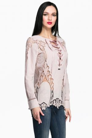 Блуза AR1-142841 Babylon. Цвет: розовый