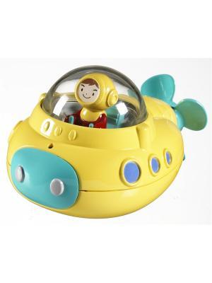 Игрушка для ванны Подводная лодка MUNCHKIN. Цвет: желтый