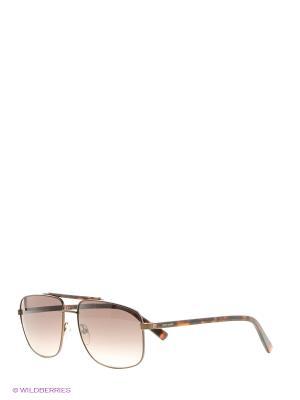 Солнцезащитные очки Pierre Cardin. Цвет: серо-коричневый, рыжий