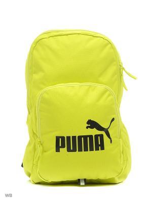 Рюкзак Phase Backpack PUMA. Цвет: черный, желтый