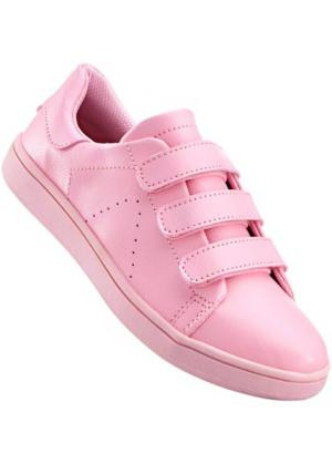 Спортивные туфли (нежно-розовый) bonprix. Цвет: нежно-розовый